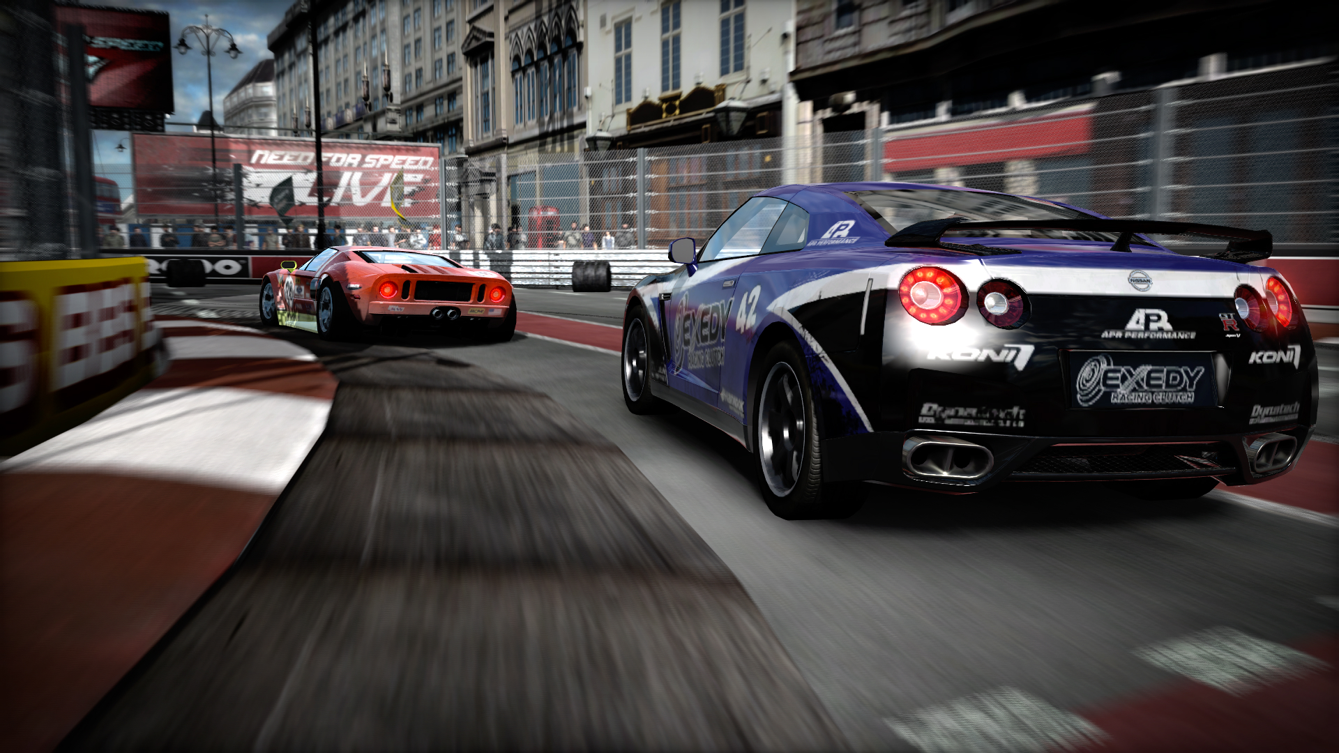 Need For Speed Shift features detailed cars, great tracks, and a focus on realistic racing
